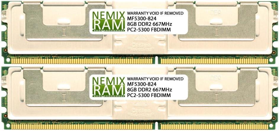 SNPM788DCK2/16G 16GB (2 x 8GB) for DELL Precision T5400 by Nemix Ram