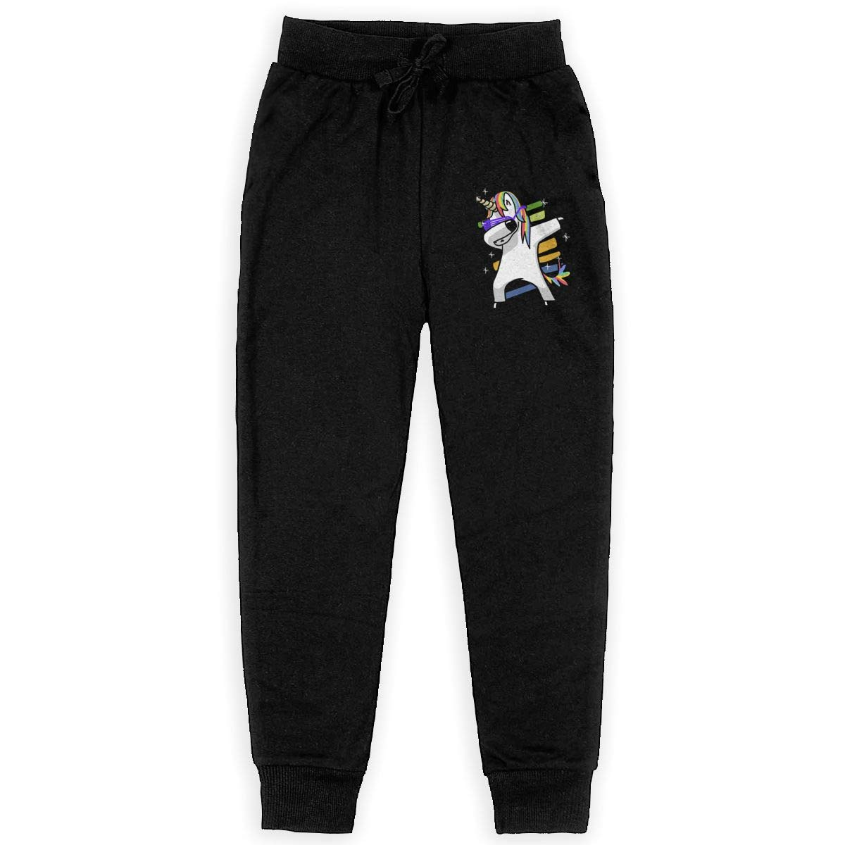 Deftones Logo Big Boys Girls Casual Jogger Soft Training Pants Elastic Waist