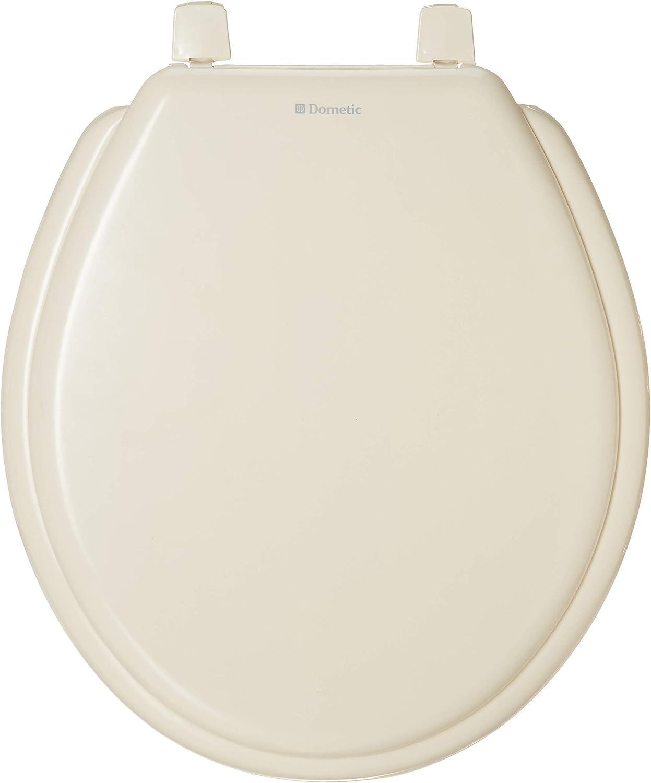 White Dometic 385311939 Toilet Seat