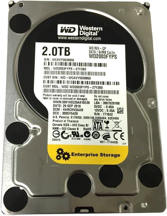"1 YR Warranty New Dell PowerEdge 2950 2TB SATA 2.5/"" Hard Drive with Drive Tray"