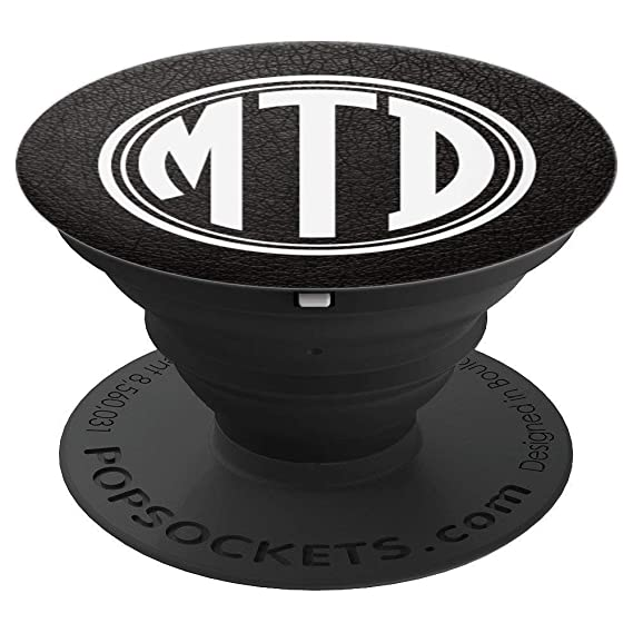 Amazon com: MTD Monogram Pop Socket Initials MTD or MDT on