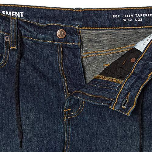 33w Dark E02 Used Element X Jeans 34l qx86CT