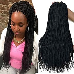 18 inch 8 Packs senegalese crochet braids 30strands/pack