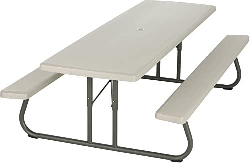 Lifetime 80123 Folding Picnic Table and Benches