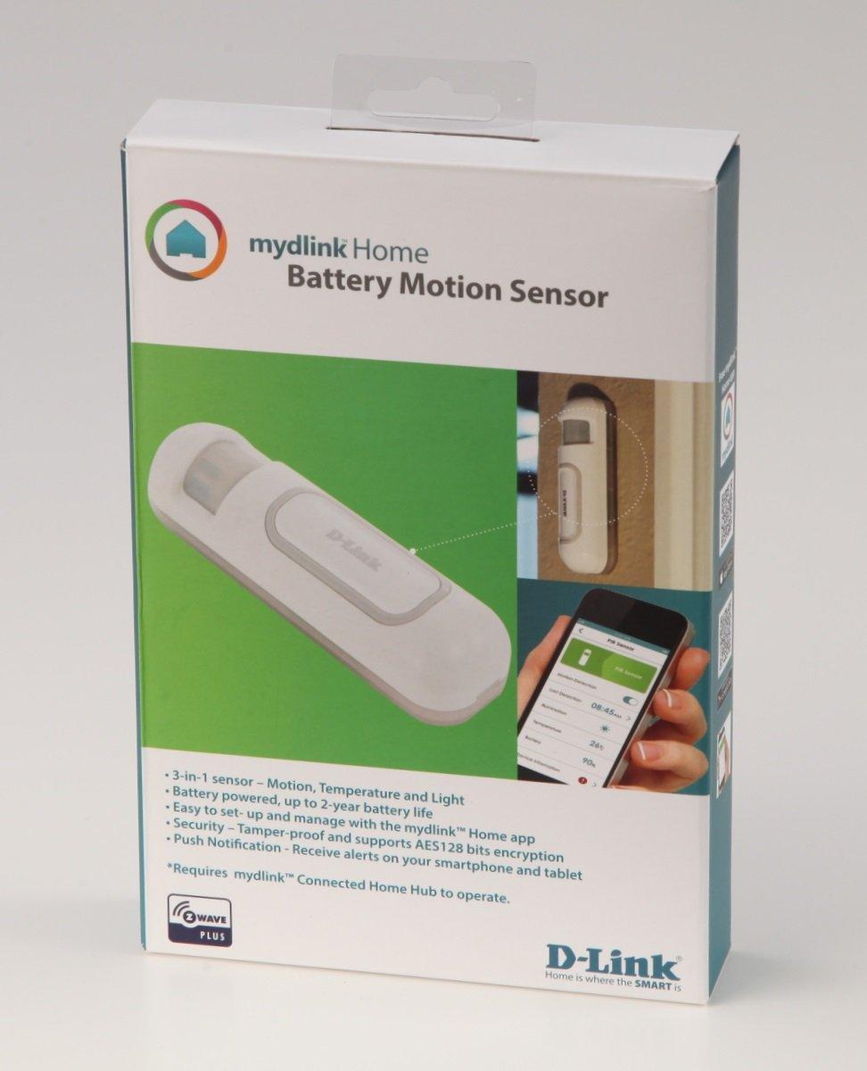 D-Link DCH-Z120 - Sensor Movimiento Z-Wave Plus, con Sensor de Temperatura y luz, notificaciones a móvil por App Gratuita mydlink Home para iOS y ...