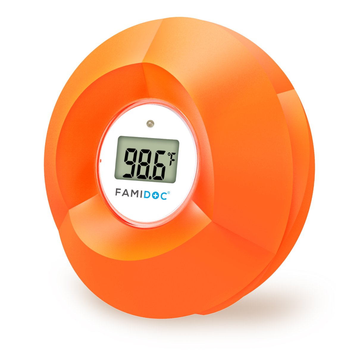 Famidoc Baby Bath Thermometer Floating Toy Bath Tub Thermometers, Flower
