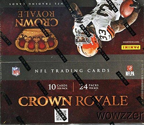 2012 Panini Crown Royale NFL Football HUGE 24 Pack Retail...