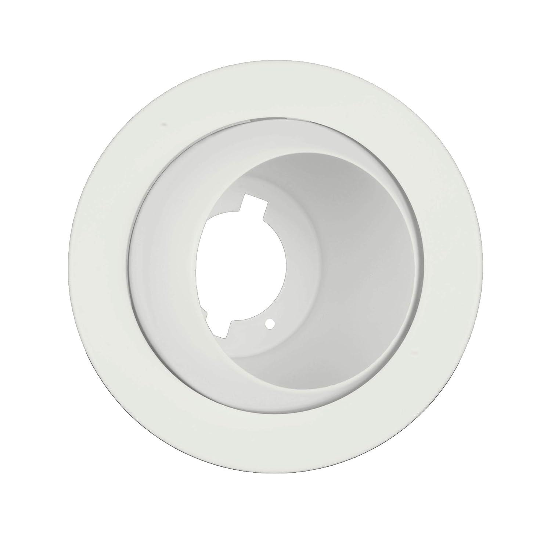 NICOR Lighting 4 inch Oil-Rubbed Bronze Adjustable Eyeball Trim 19506OB-OB for 4 inch Housings