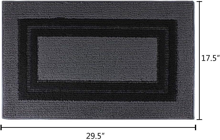 Attraction Design Indoor Doormat Absorbs Water 17 5 X 29 5 Non Slip Door Mat For Front Door Inside Mat Low Profile Mat Entrance Rug Machine Washable Carpet Doormat For Entry 17 5 X29 5 A