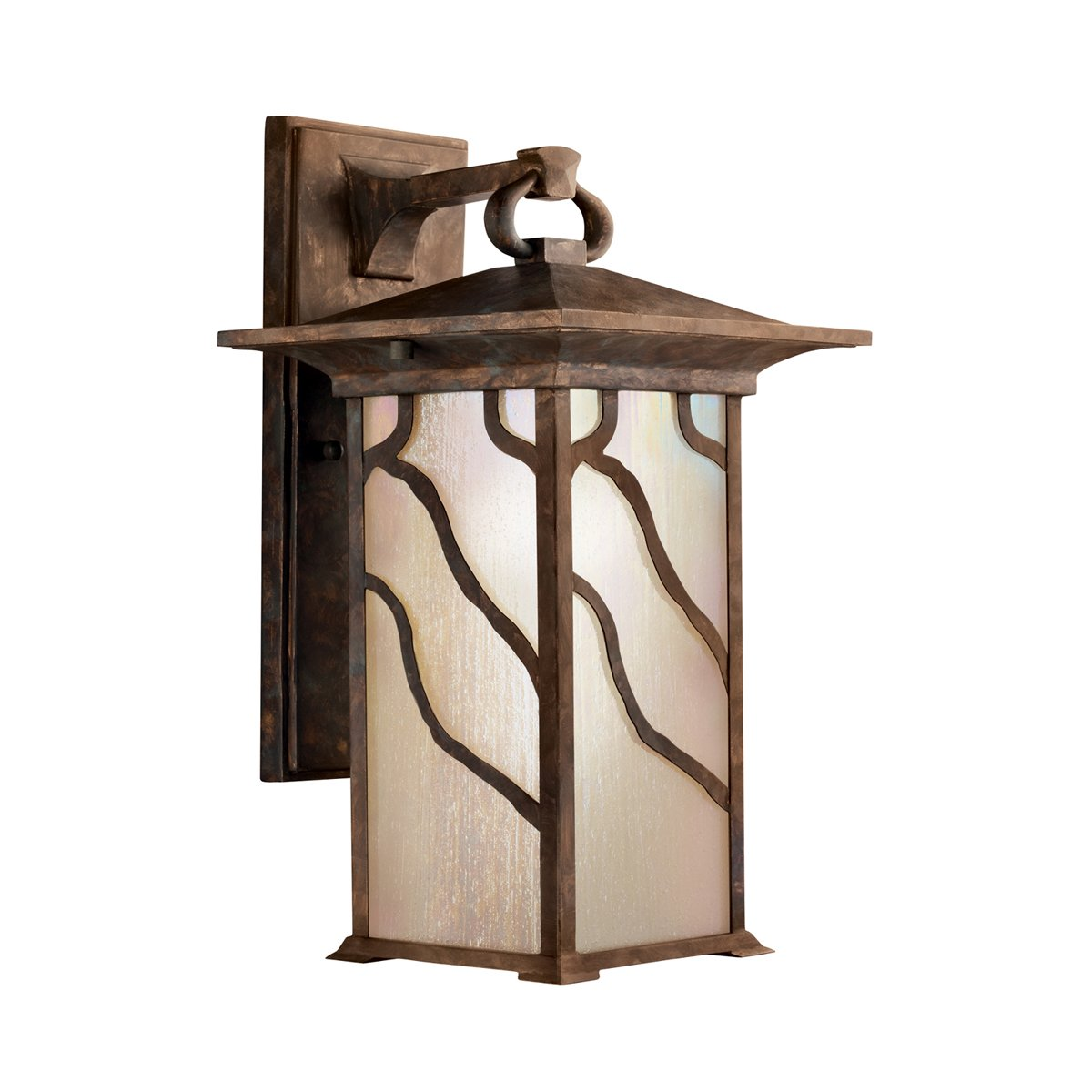 Kichler 9031DCO One Light Outdoor Wall Mount   Wall Porch Lights    Amazon.com