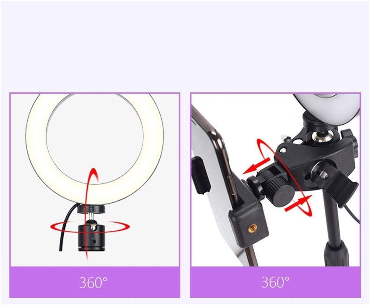Xiao Tian LED Ring Light and Light Stand,for Camera Smartphone YouTube Video Shooting