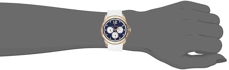 Tommy Hilfiger Women s 1781582 Analog Display Quartz White Watch