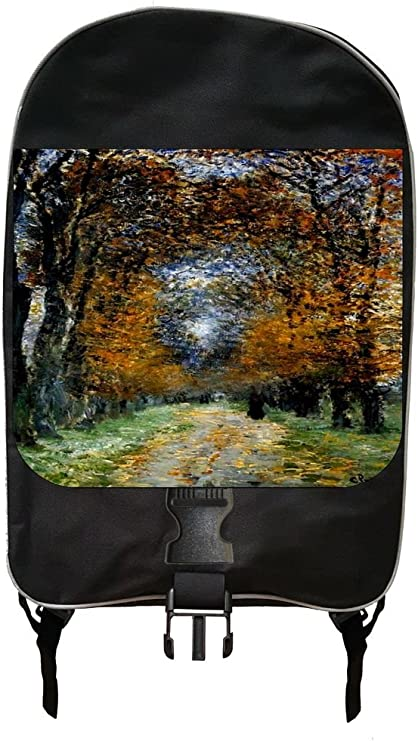 Claude Monets Avenue in the Park Backpack