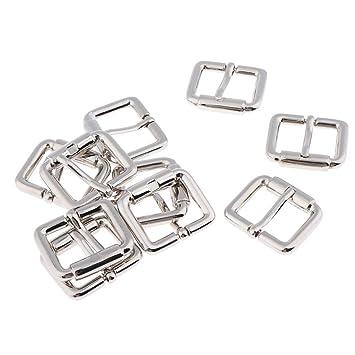 B Baosity 20 Unids Hebilla Deslizante Triangular Triple Metálico Accesorios para Fabricación de Bolso Mochila Equipaje - 2.5x2cm, Estilo 3-10pcs: Amazon.es: ...