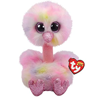 Ty TY36469 Avery Ostrich-Boo MED, Multicolored: Toys & Games
