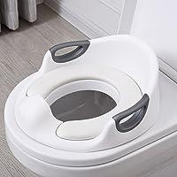 Aerobath Asiento Inodoro para Niños, Reductor de WC para Bebé, Tapa WC con reposabrazos