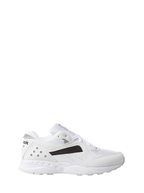 Blanc (blanc noir 000) Reebok Pyro, Chaussures de Running Compétition Mixte Adulte 44.5 EU