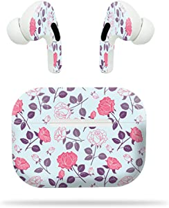 MightySkins Compatible with Apple Airpods Pro - Vintage Floral | Protective, Durable, and Unique Vinyl Decal Wrap Cover | Easy to Apply, Remove, and Change Styles | Made in The USA