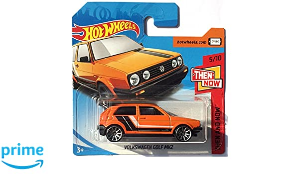 HotWheels FJX92 - Volkswagen Golf Mk2 naranja (Then and now 5/10): Amazon.es: Juguetes y juegos