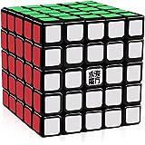 D-FantiX Yj Yuchuang 5x5 Speed Cube 5x5x5 Puzzle Cube Black