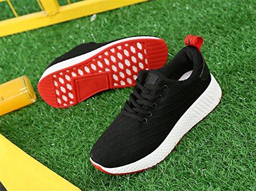 39 Las Mujer de black Ocio Blanco de XIE 35 Transpirable de Pareja Tamaño Gran Verano Salvaje de Mujeres de Zapatos Zapatillas de de Zapatos Viaje Deporte S5xxEqRfw