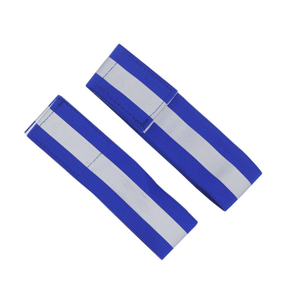 Black ltd Road ID High Visibility Runners Belt For Adult /& Child Road ID High Visibility Runners Belt For Adult /& Child Reflective Vest With Wrist Strap2,Unisex Reflective Running Belt Outdoor Dog-Walking Car Safety MLCASTLE 3PCS//SET