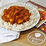 Indian Butter Chicken & Basmati Rice Meal Kit by Takeout Kit (Dinner for 4)