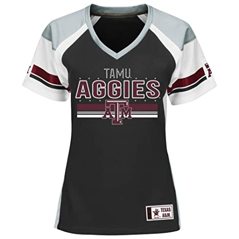 b1dfcca76 Amazon.com   Majestic Texas A M Aggies Jersey Draft Me Fashion Top ...