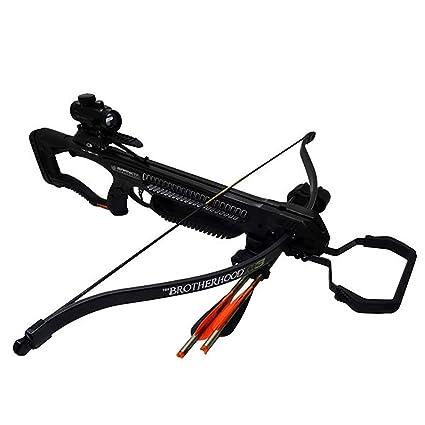 Amazon com : Barnett Brotherhood M3 Recurve Crossbow : Sports & Outdoors