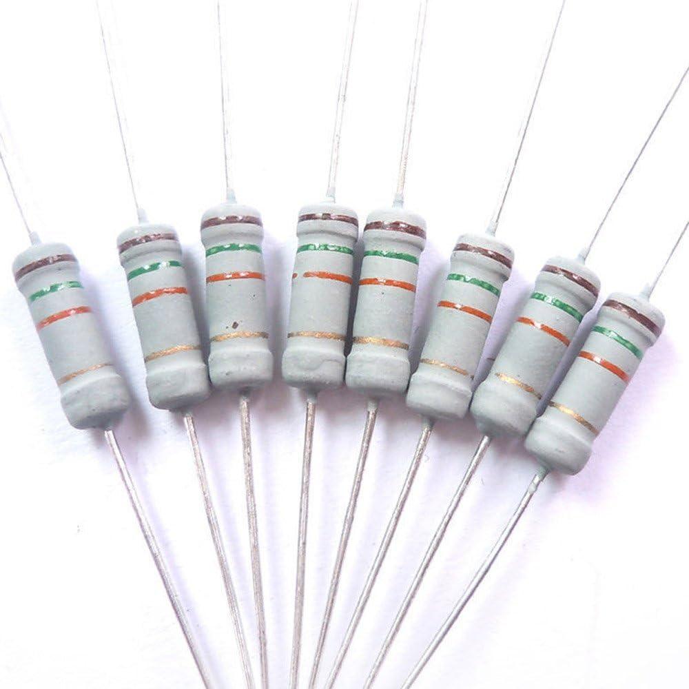 1000 X resistencias 4.7 k 4k7 ohmios Ohm 1//4w 5/% de carbono De Cine-Nuevo