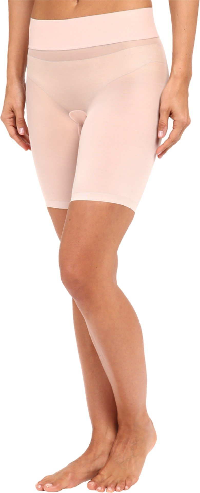 Wolford Women's Sheer Touch Control Shorts Rosepowder 42