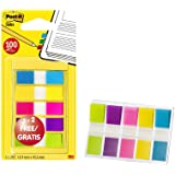 Lot de 100 Marque-pages Post-it Etroits, Couleurs Vives dont 40 Offerts