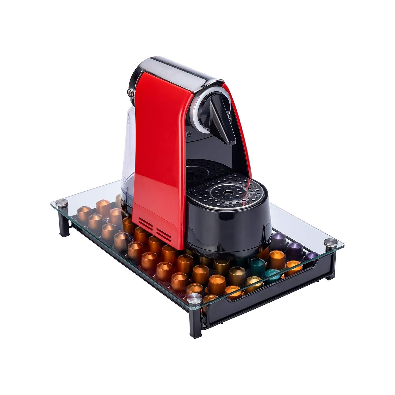 Coffee Capsule Drawer Display Storage Pod Holder for Nespresso Originaline 60 Pods
