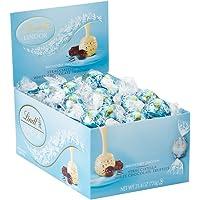 60-Count Lindt Lindor Stracciatella White Chocolate Truffles