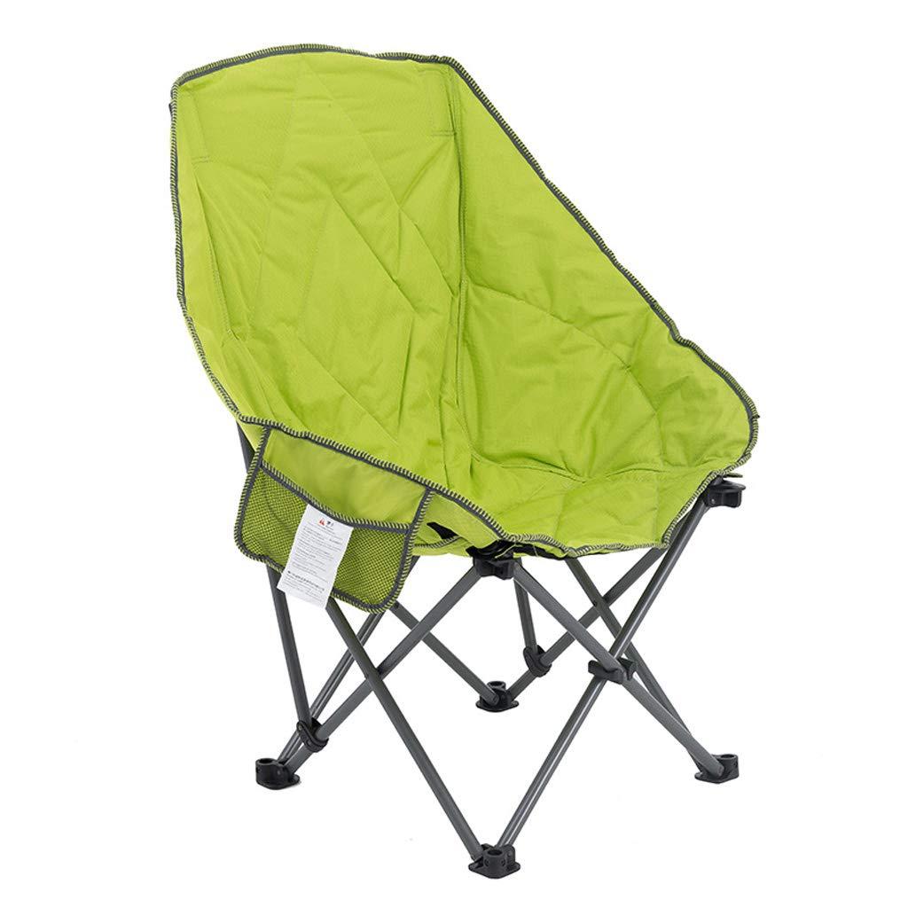 KTYXDE 椅子折りたたみ椅子屋外折りたたみスツール釣り椅子ベアリング容量強いビーチチェアラウンジチェアグリーン70×103センチ 折りたたみ椅子   B07NJ5Q5K7