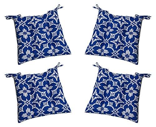 Set of 4 - Indoor / Outdoor Aspidoras Cobalt - Royal Blue...