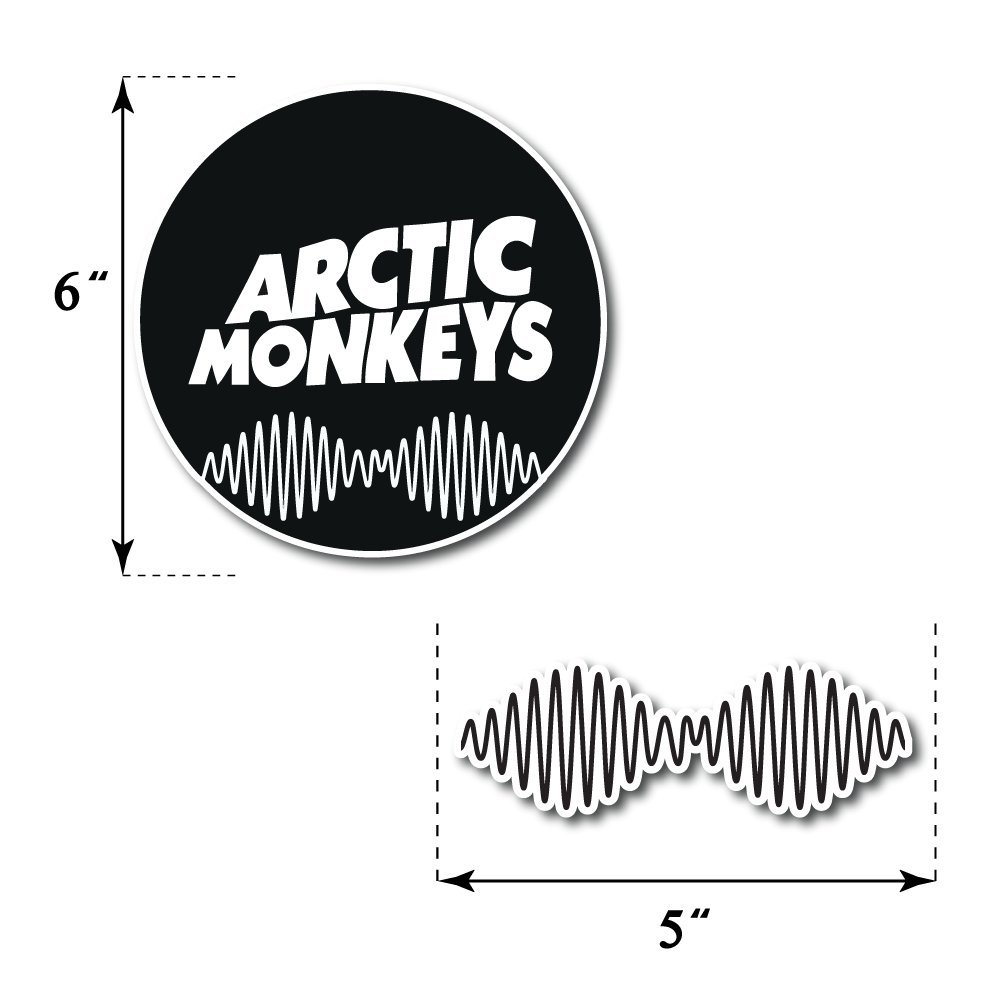 Amazon Arctic Monkeys Sticker Set Pack Rock Band Decal For Car