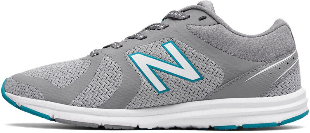 New Balance Women's 635v2 Cushioning B01MS138UR 7.5 B(M) US|Silver