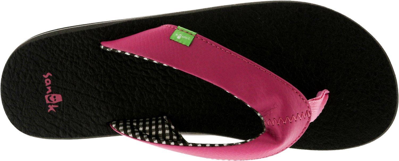 Sanuk Yoga Mat Mat Yoga 29418063 Damen Zehentrenner pink 8b64db