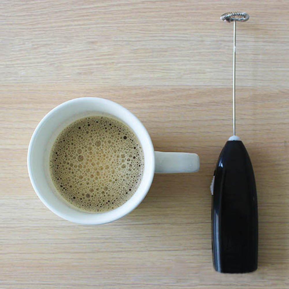 palmare elettrico frusta, caffè latte ugello miscelatore frullino elettrico Eggbeater Foamer Kicthen, Tool, Light Pink, Taglia libera Tookie