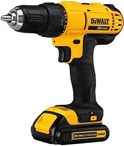 DeWalt DCD771C2 was designed to be lightweight and compact