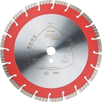 Klingspor 325028 Discos de Corte Diamantados para Amoladoras Angulares, DT 900 U, 180 mm