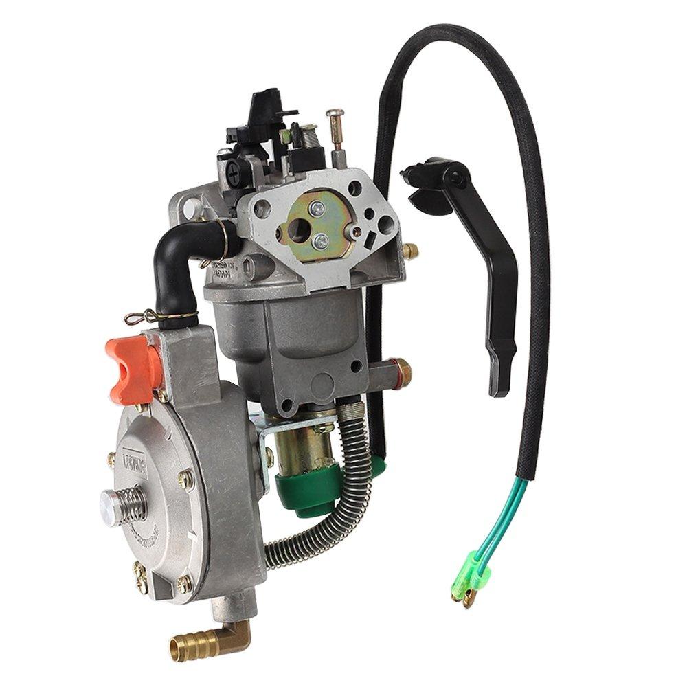 Amazon.com: HIPA Dual Fuel GLP NG Conversión para carburador ...