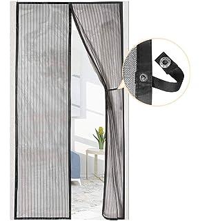 Oladwolf Mosquitera Magnética para Puerta Protección Contra Insectos Magnético Corredera Cortina Mosquitera Magnética para Puertas Cortina de Sala de Estar la Puerta 90x210cm: Amazon.es: Bricolaje y herramientas
