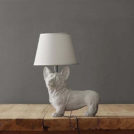 Lampada da tavolo retro lampada da comodino camera da letto studio ...