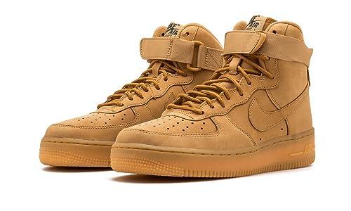 buy popular 23028 c6c7c Nike Air Force 1 Hi Premium Women s Shoes  Amazon.co.uk  Shoes   Bags