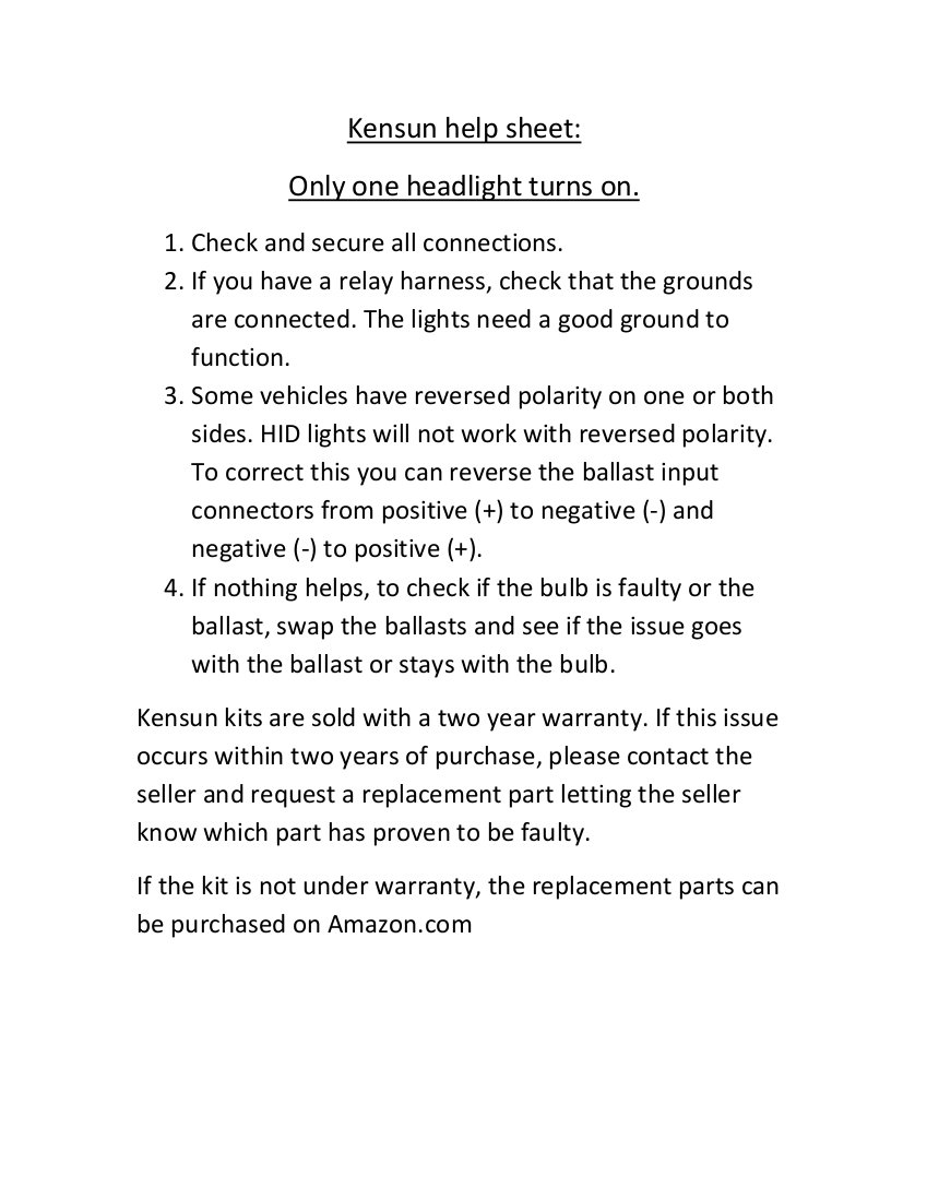 Kensun Wiring Diagram | Wiring Liry on