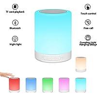 Enkman Rechargeable Table Lamp Portable Bluetooth Speaker