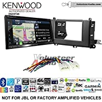 Volunteer Audio Kenwood DNX574S Double Din Radio Install Kit with GPS Navigation Apple CarPlay Android Auto Fits 2011-2014 Non Amplified Toyota Sienna