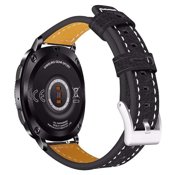 Jewh Universal Genuine Leather Strap for Samsung Gear- Samsung Gear s2 Band - Bracelet Wristband